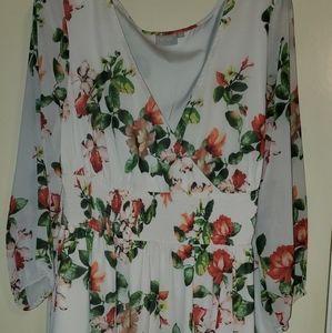 eshakti 1X 18 long sleeve dress.